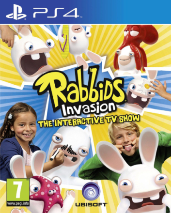 Rabbids Invasion - The Interactive TV Show (Nordic) /PlayStation 4