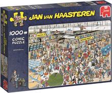 Jan Van Haasteren - Comic Puzzle - Departure Hall -1000 pc