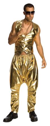 Rubies Adult - MC Gold Suit