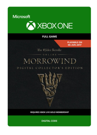Elder Scrolls Online: Morrowind: Collector's Edition Game /Xbox One