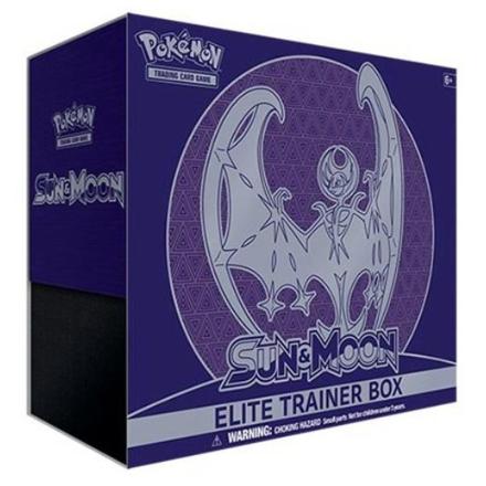 Pokemon Sun & Moon - Elite Trainer Box, Lunala