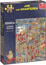 Jan van Haasteren - 1000 pcs. Puzzle - International Parcel Service
