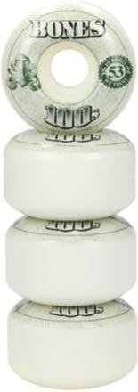 Bones Wheels 100'S Og #16 100A White 53mm Wheels white Uni