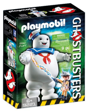Ghostbusters Stay Puft skumfidusmand - ToysRUs.dk
