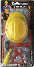 Værktøjssæt med Hjelm 118700