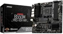 Gaming Motherboard MSI B550M PRO-VDH mATX DDR4 AM4 WiFi