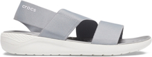 Crocs LiteRide Stretch Sandal Light Grey White