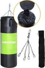 Nyrkkeilysäkki 40-80 kg Musta/Vihreä
