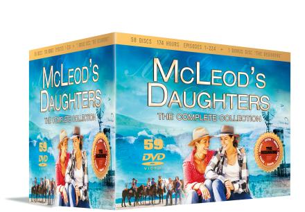Mcleod's Daughters complete (59 disc) - DVD