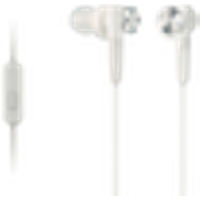 Headset In-ear MDR-ZB50AP, valkoinen