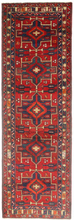 Hamadan matta 100x313 Orientalisk, Avlång Matta