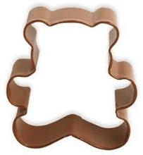Pepparkaksform nallebjörn, brun