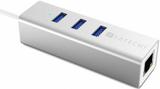 Satechi USB 3.0 hubb av aluminium - 3 portar + Nät