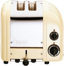 Dualit - Classic Brødrister 2 skiver Creme