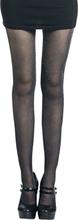 Pamela Mann - Syria Silver Tights -Tights - svart, sølv