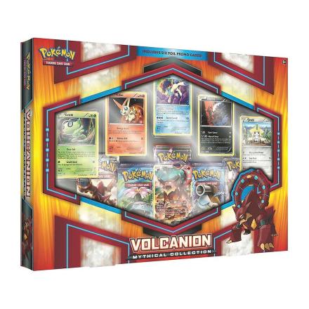 Pokemon TCG: Mytiske Pokemon Collection-Volcanion boks - Fruugo