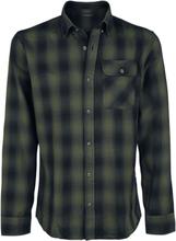 Shine Original - Check Shirt Slim Fit -Langermet skjorte - grønn