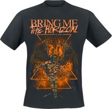 Bring Me The Horizon - Burning Angel -T-skjorte - svart