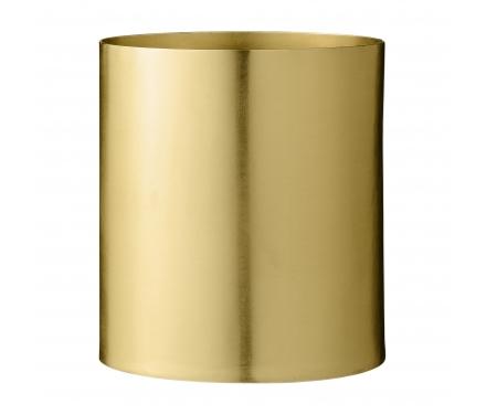 Bloomingville Flowerpot - Urtepotteskjuler - Guld -14 cm.