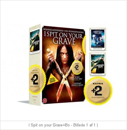 I Spit on Your Grave+ bonus movies - Identity Killer / House of the Rising Sun - DVD