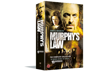 Murphy's Law - Complete Collection (10-disc) - DVD