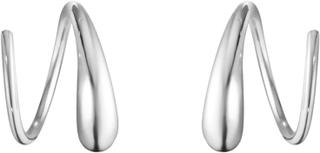 Mercy Swirl Örhängen Silver