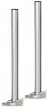 Conceptum 850 mm stolp-par med spännhandtags-bordsfästen