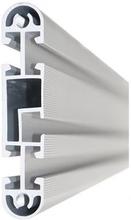 Conceptum F-profil 1600 mm (total bredd med stolpar 1738 mm)