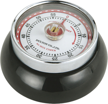 Zassenhaus - Retro Collection Timer med magnet Sort