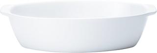 Backaryd Ugnsform 28 cm oval Vit