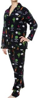 PJ Salvage Oh Kale Yeah! Flannel PJ Set * Fri Frakt * * Kampanje *