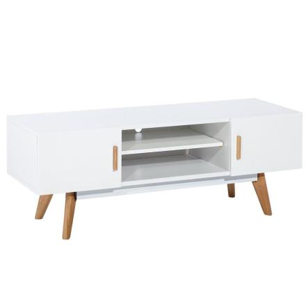 Nordic Hvid Tv Bord - Bredde 120 cm