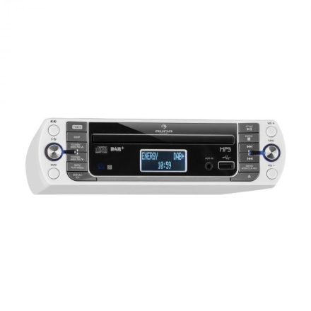 KR-400 CD Köksradio, DAB+/PLL FM, CD/Mp3-Player Vit