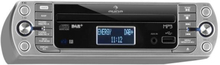 KR-400 CD Köksradio, DAB+/PLL FM, CD/Mp3-Player Silver