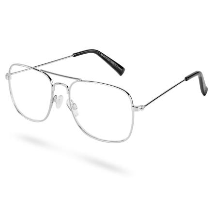 Wile Aviator Briller med Klart Glas