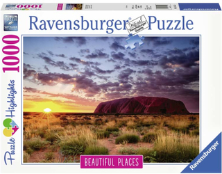 Ravensburger Pussel Ayers Rock Australien 1000 bitar Beautiful Places