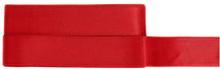 Rött Satinband 25 mm, 3 meter