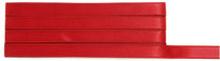 Rött Satinband 10 mm, 4 meter