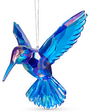 Julgransdekoration, Kolibri. 7x10 cm