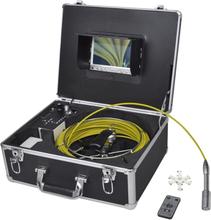 vidaXL Rörinspektionskamera 30 m med DVR kontrolllåda