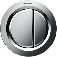 Geberit Omega 01 remote trykknap, indmuring, krom