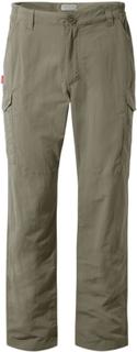 Craghoppers Men's Nosilife Cargo Trousers Herre hverdagsbukser Grå 34 Long