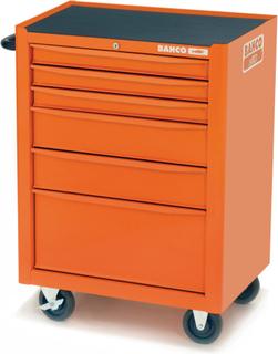 BAHCO værktøjskiste med 130 værktøjer 6 skuffer 1470K6FF2