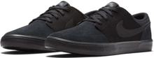 Nike SB Solarsoft Portmore II Men's Skateboarding Shoe - Black