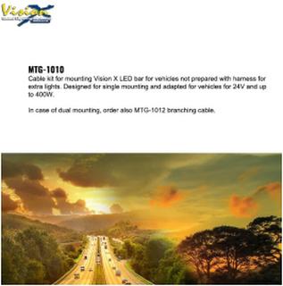 MTG-1010 Kabel kit