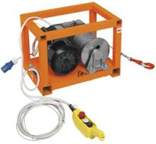 Trækspil 200 kg. 400V. 25m wire. 21 m/min