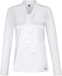Skjortebluse Fra Anna Aura hvid