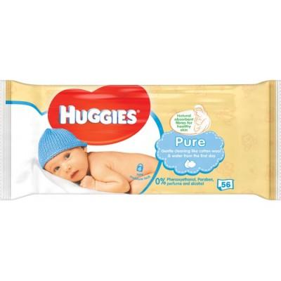 Huggies Baby-Feuchttücher Pure 56 stk