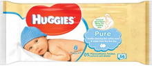 Huggies Baby Wipes Pure 56 stk