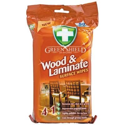Green Shield Holz & Laminat Reinigungstücher 50 stk